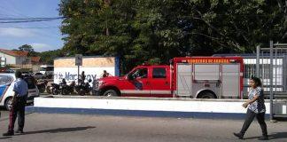 Incendio en Hospital Central de Maracay