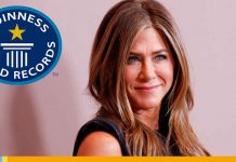 Récord Guinness de Jennifer Aniston