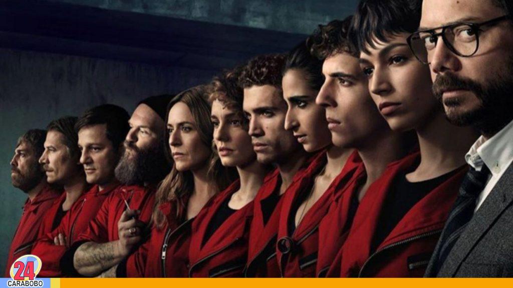 quinta temporada de La Casa de Papel