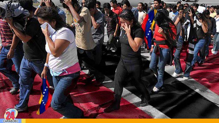 venezolanos deportados de Trinidad y Tobago