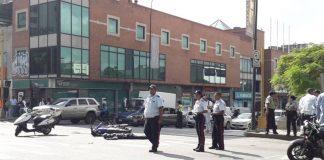 Murieron dos sujetos en Chacao - Murieron dos sujetos en Chacao