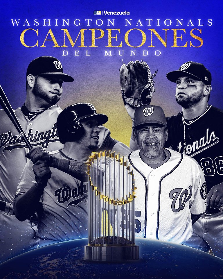 Nacionales de Washington campeón - noticias24 Carabobo
