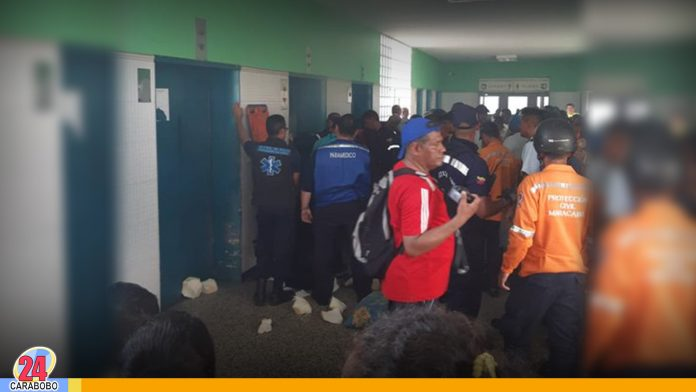 ascensor de Hospital Universitario en Maracaibo