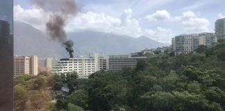 incendio en Hotel Tamanaco
