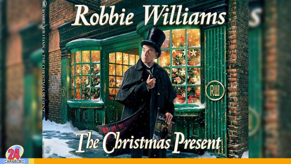 Robbie Williams anuncia álbum navideño
