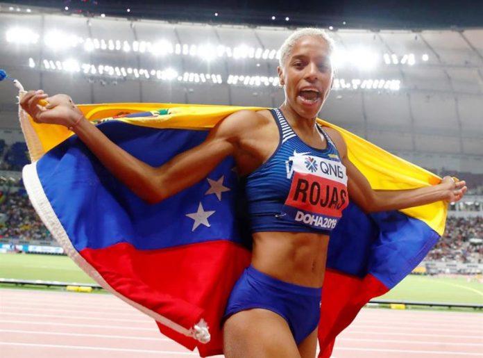 Yulimar Rojos ganó el oro . noticias24 Carabobo