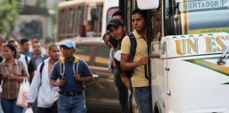 transportistas de Caracas