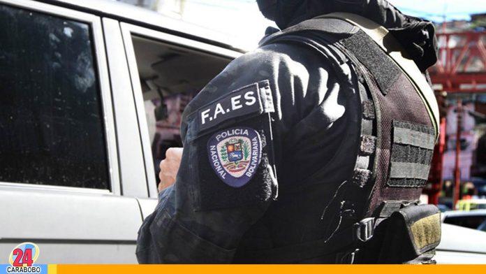Operativo de la FAES en Baruta dejó un muerto
