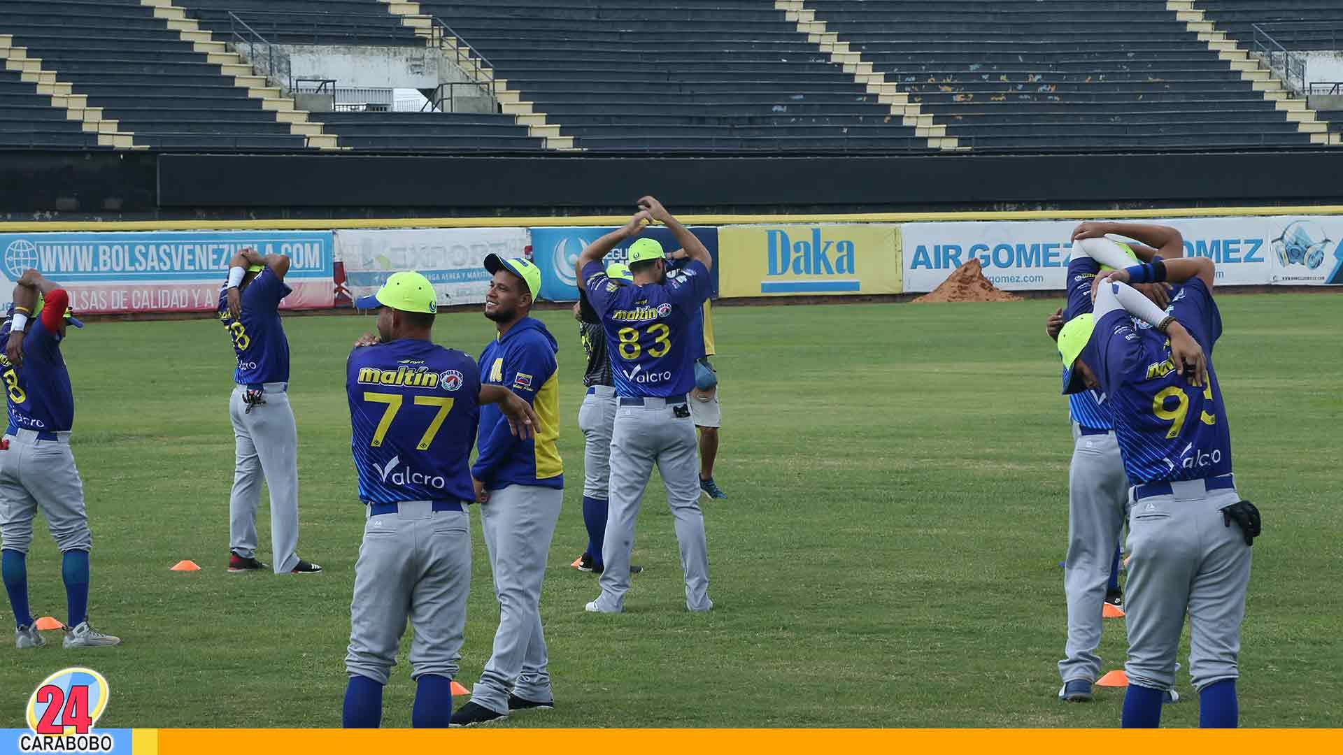 Magallanes empezó prácticas - Magallanes empezó prácticas