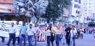 marcha de obrerosde la UC