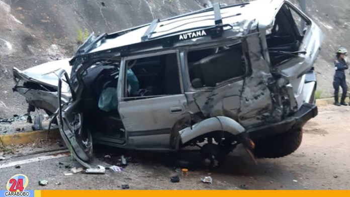 Accidentes automovilísticos en Caracas dejó un herido