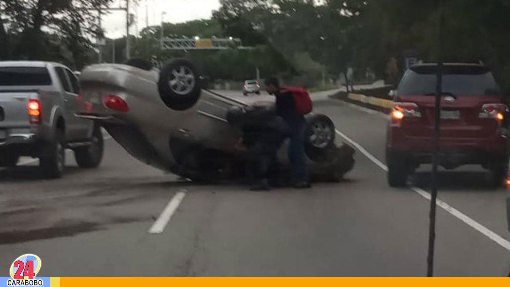 Accidentes automovilísticos en Caracas