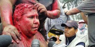 Alcaldesa de Bolivia es brutalmente agredida tras protestas