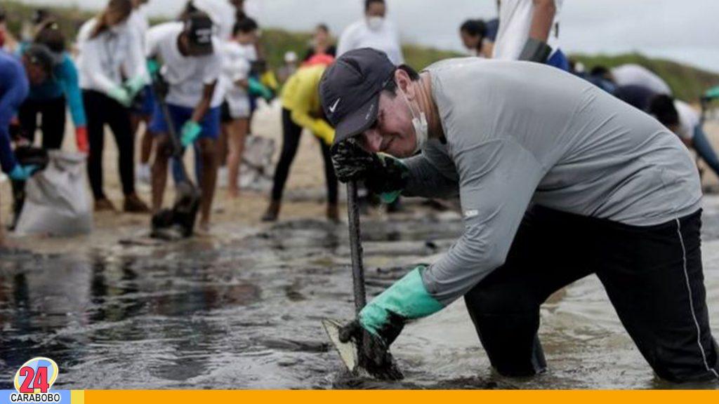 marea negra en Brasil
