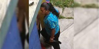 maestra capturada en Caracas