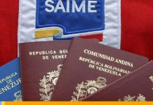 Tarifas del Saime: Conoce el monto a pagar para pasaportes y prórrogas