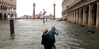 Declaran estado de emergencia en Venecia tras inundaciones