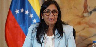 Delcy Rodríguez reitera su compromiso con el diálogo