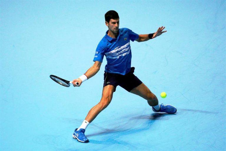 Djokovic y Thiem arrancaron victoriosos Torneo de Maestros