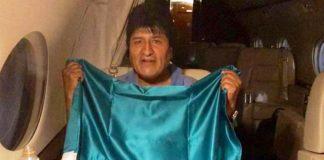 Evo Morales rumbo a México - noticias24 Carabobo