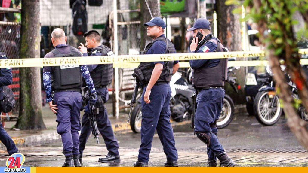 Policías asesinados en México por sujetos armados