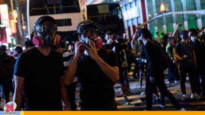 Nueva jornada de protesta en Hong Kong