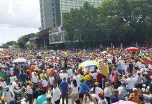 Valencia protestó - noticias24 Carabobo