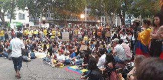 Paro nacional en Colombia en rechazo a las políticas de Duque