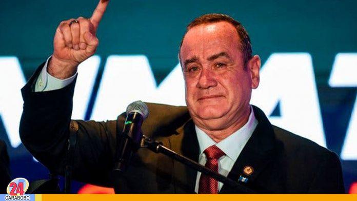 nuevo presidente de Guatemala