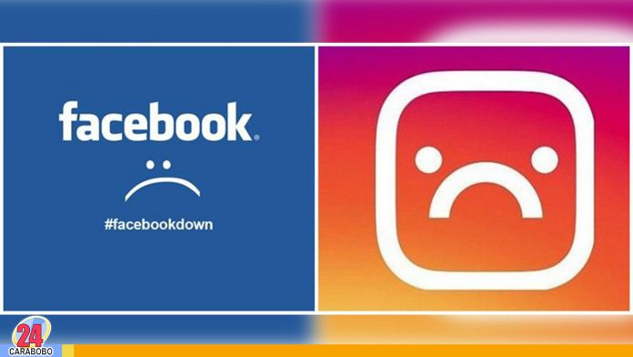Caída de Instagram y Facebook en varias parte del mundo