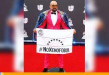 Robert Vogu en los Latin Grammy