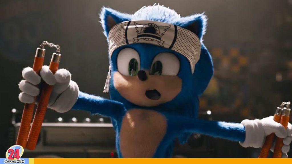 Sonic estrena nuevo tráiler con rediseño del personaje
