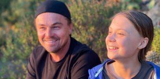DiCaprio conoció a Greta Thumberg - noticias24 Carabobo