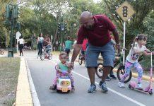 Familias disfrutaron de la Navidad en principales parques de Valencia