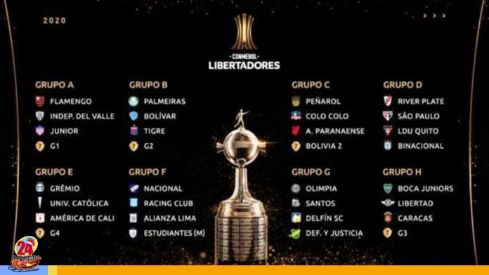 Caracas FC enfrentará a Boca Juniors en Copa Libertadores 2020