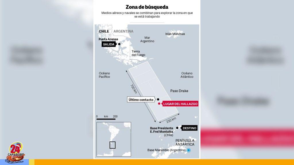 Avión desaparecido en Chile Fuerza aérea descartó sobrevivientes