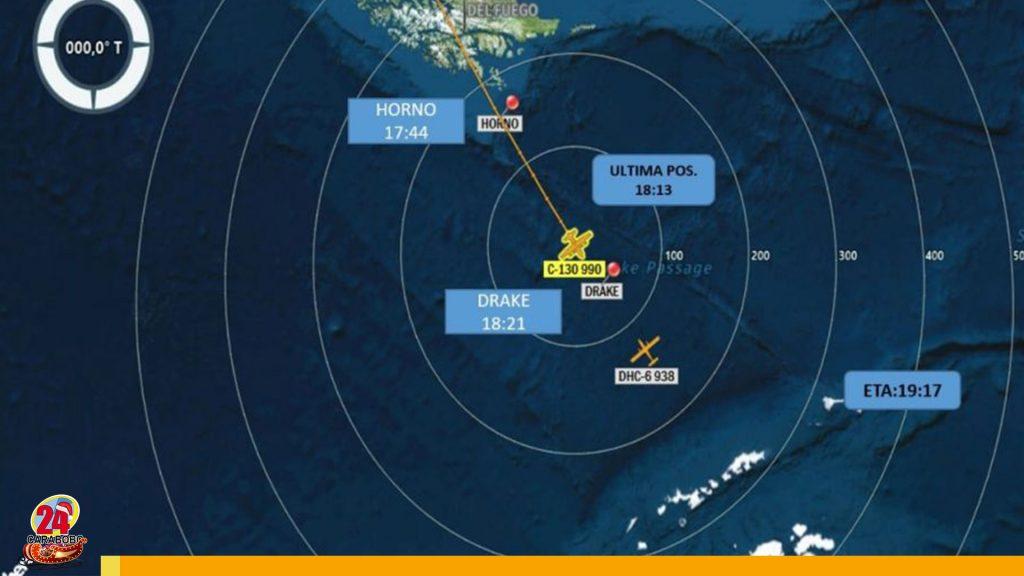 Avión desaparecido en Chile con 38 personas a bordo iba a la Antártida