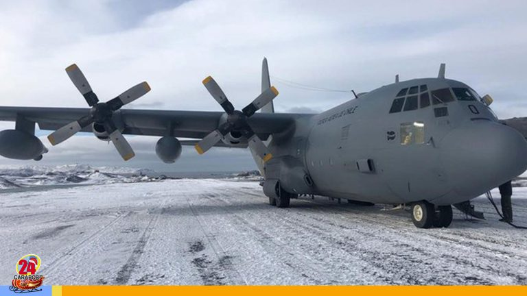 Desaparece avión militar de Chile con 38 personas a bordo
