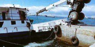 Derrame de combustible en Galápagos tras hundimiento de gabarra