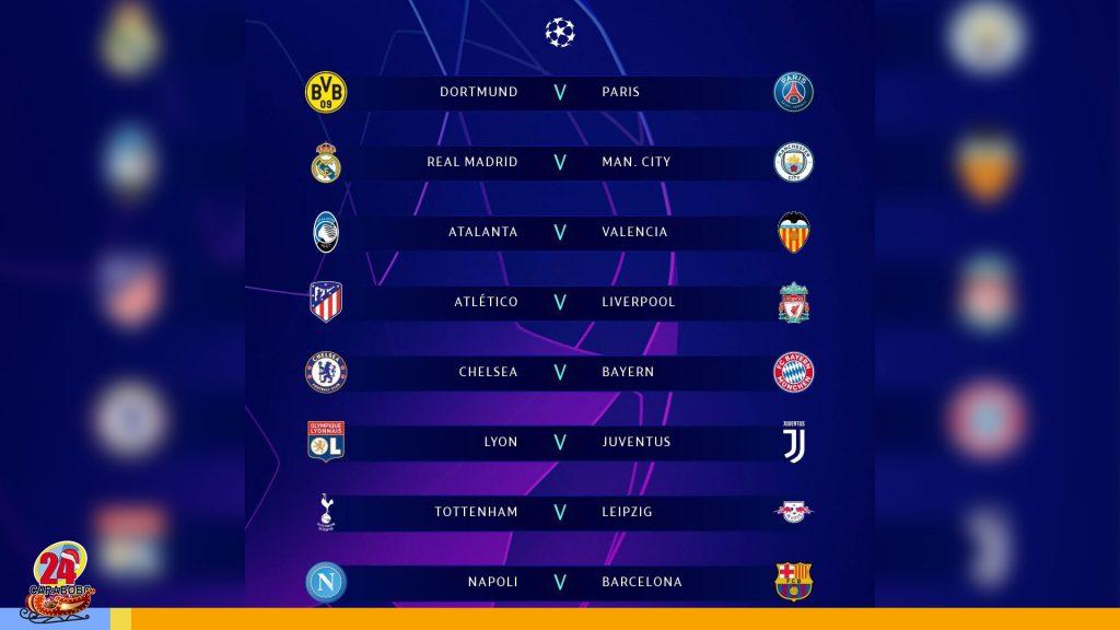 Octavos de la Champions League: Entérate quienes se enfrentarán