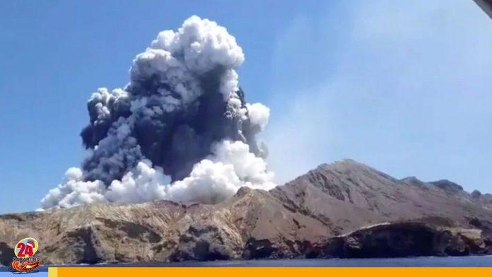 Erupción de volcán en Nueva Zelanda dejó al menos cinco muertos