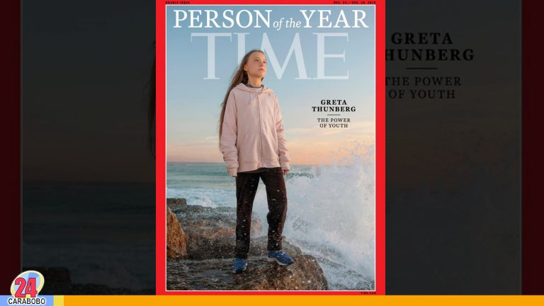 Greta Thunberg elegida como «Persona del año» por la revista Time