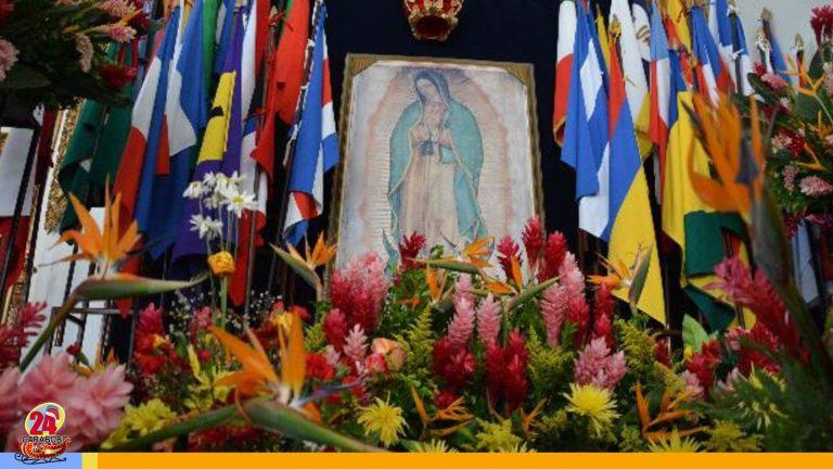 Hoy México celebra el día de la Virgen de Guadalupe