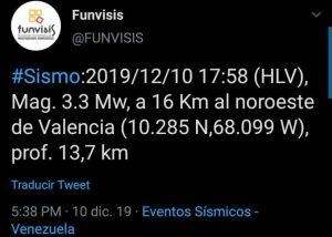 Tembló en Valencia - noticias24 Carabobo