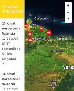 Tembló otra vez en Valencia -noticias24 Carabobo