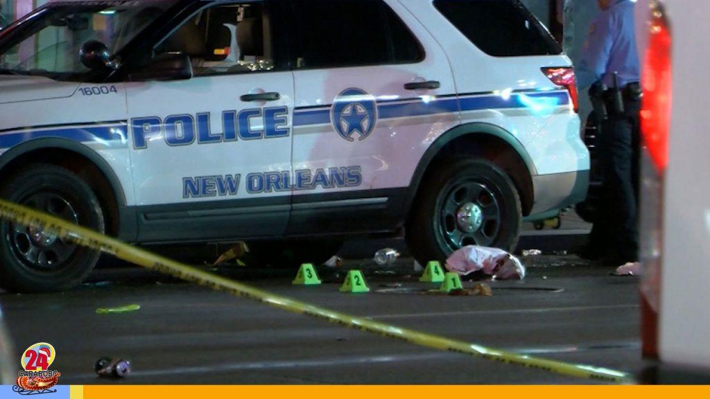 Tiroteo en Nueva Orleans dejó al menos 11 heridos