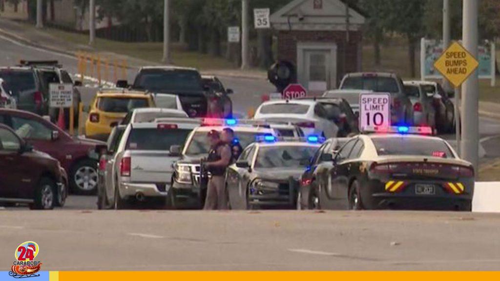 Tiroteo en base naval de Florida dejó cuatro muertos y varios heridos