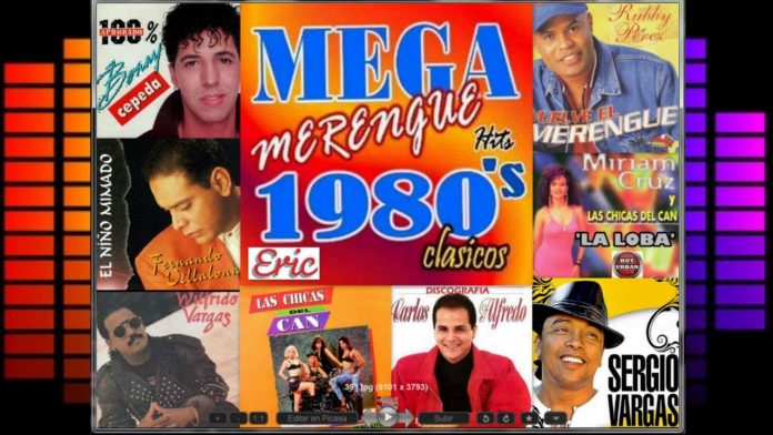merengue de los 80 - merengue de los 80