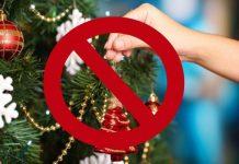 Países que no celebran Navidad