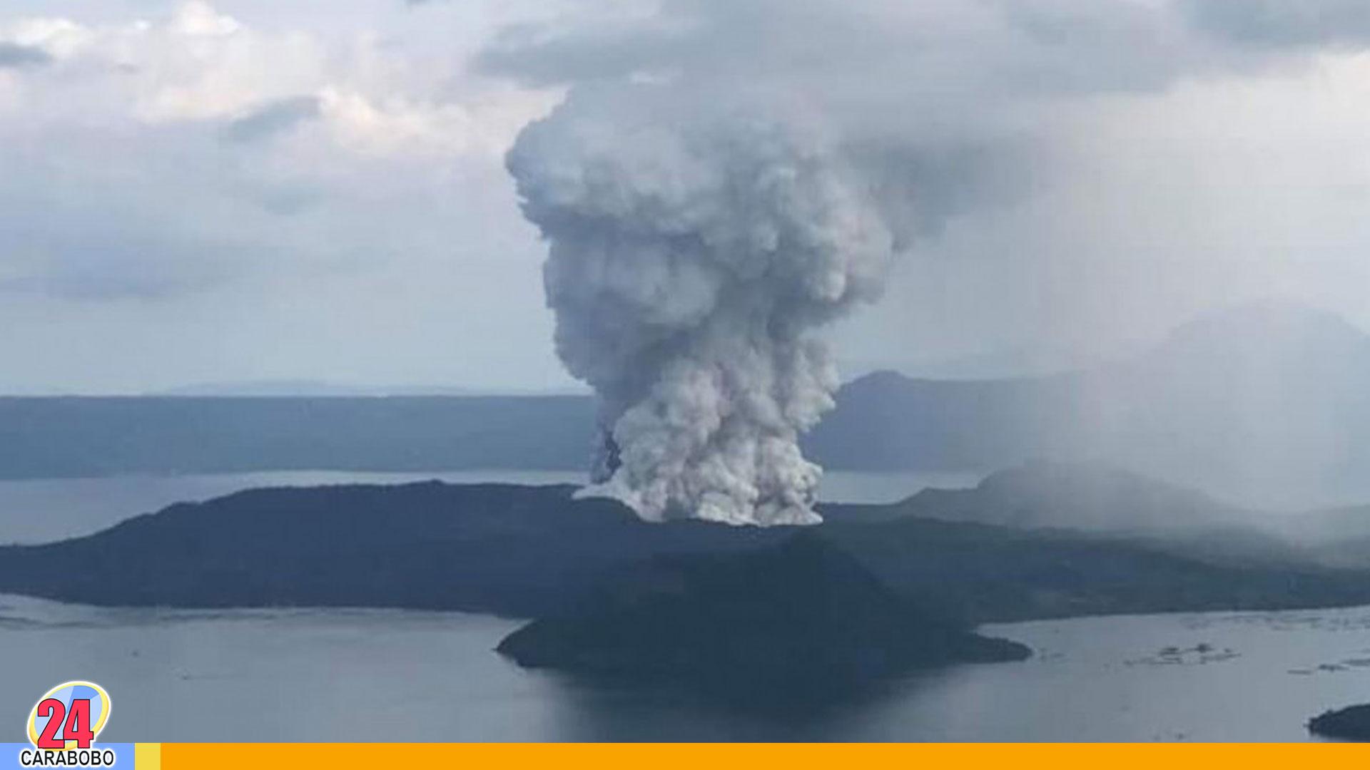 Volcán Taal de Filipinas - Volcán Taal de Filipinas